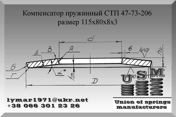 Гост 18799-80 пакеты тарельчатых пружин. конструкция и размеры