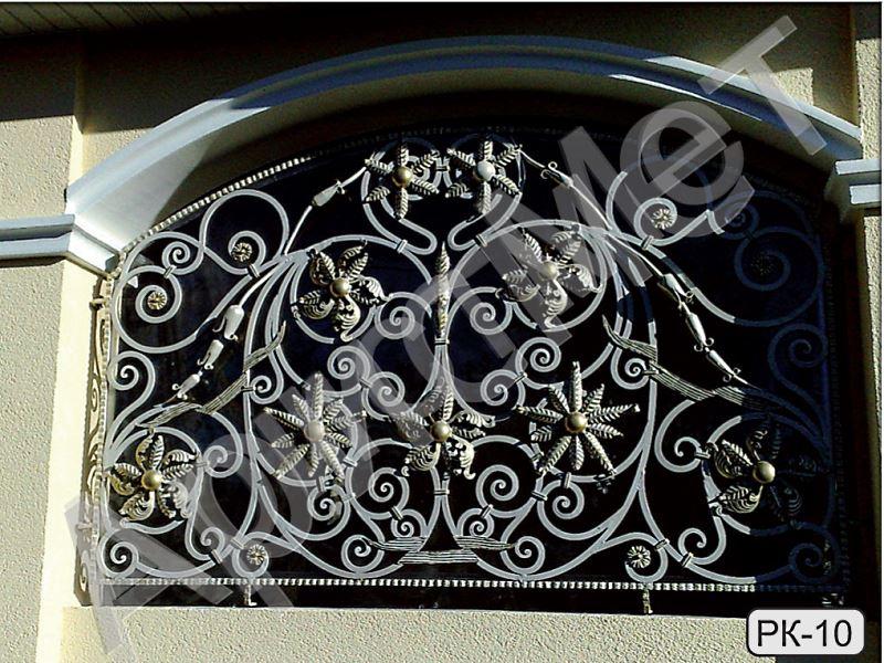 Кованые решетки на окна - порядок установки своими руками, пошагово