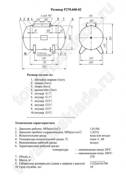 Ресивер в компрессоре – назначение и изготовление
