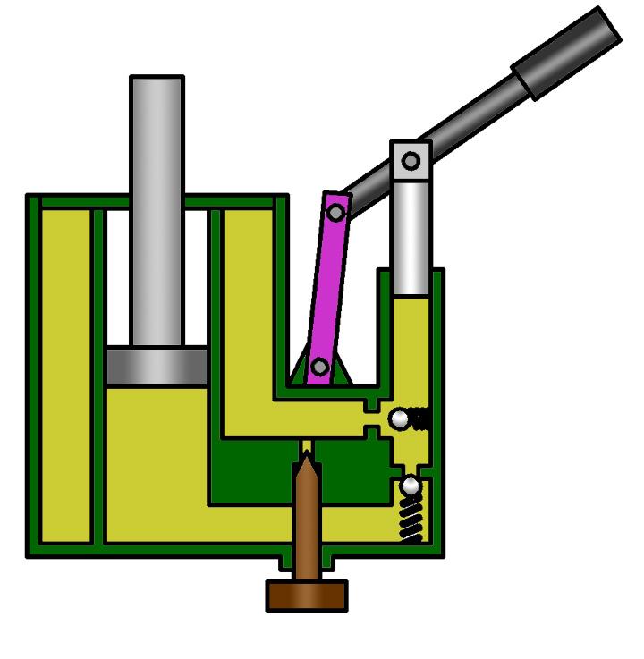 Домкрат гидравлический подкатной: ремонт, устройство, схема