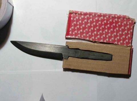 Нож из пильного диска своими руками