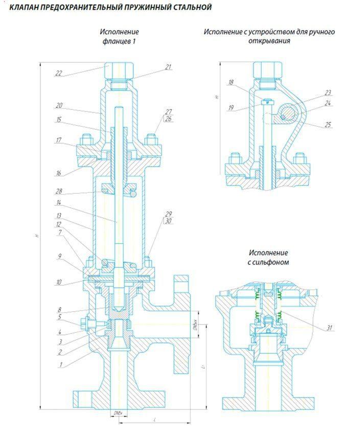 Предохранительный клапан для систем отопления. что это такое?