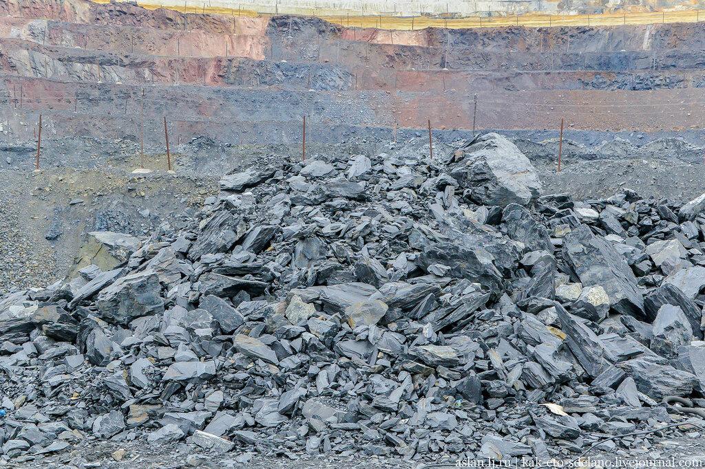 Особенности процесса по добычи руды