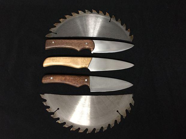 Нож из пилы: как сделать его своими руками из полотна механической модели по металлу? самодельный нож из двуручной пилы по чертежам