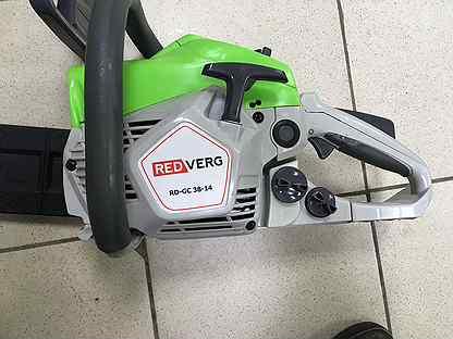 Бензиновая пила redverg rd-gc45-16 1800 вт