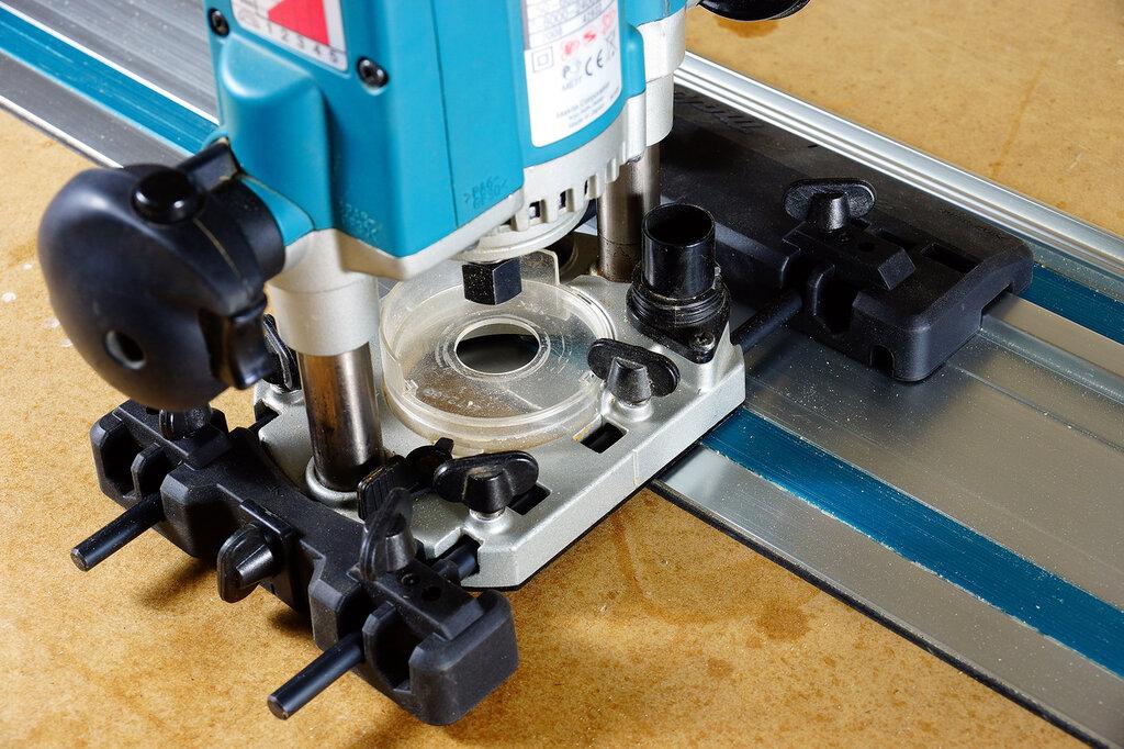 Как использовать шаблон для врезки петель фрезером