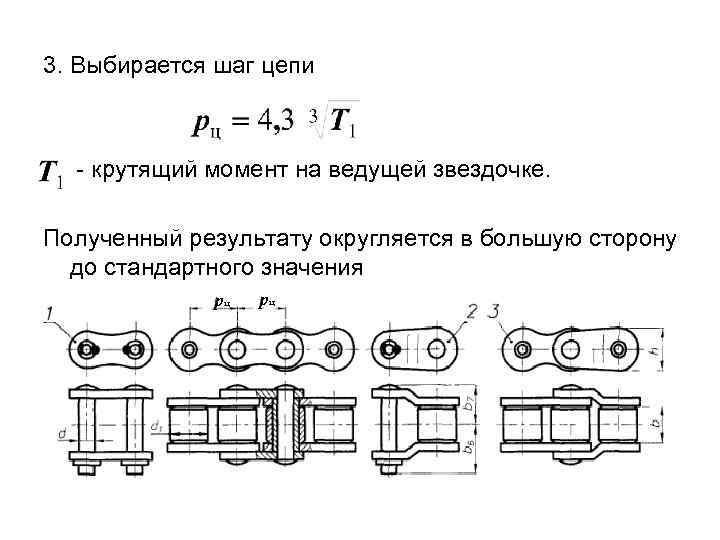 Конструирование и расчет цепных передач.