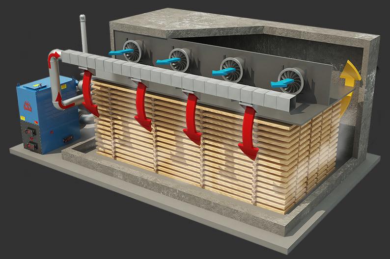 Сушилка для древесины своими руками: чертежи. сушильная камера для пиломатериала (схемы, видео и создание своими руками) сушильные камеры под