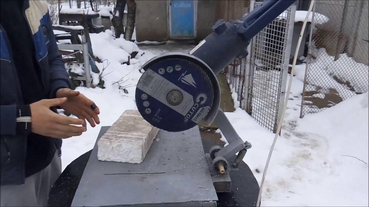 Варианты приспособлений для болгарки, позволяющих резать листовой металл