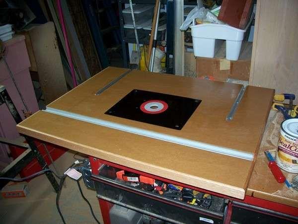 Фрезерный стол своими руками: чертежи и схемы - строительство и ремонт