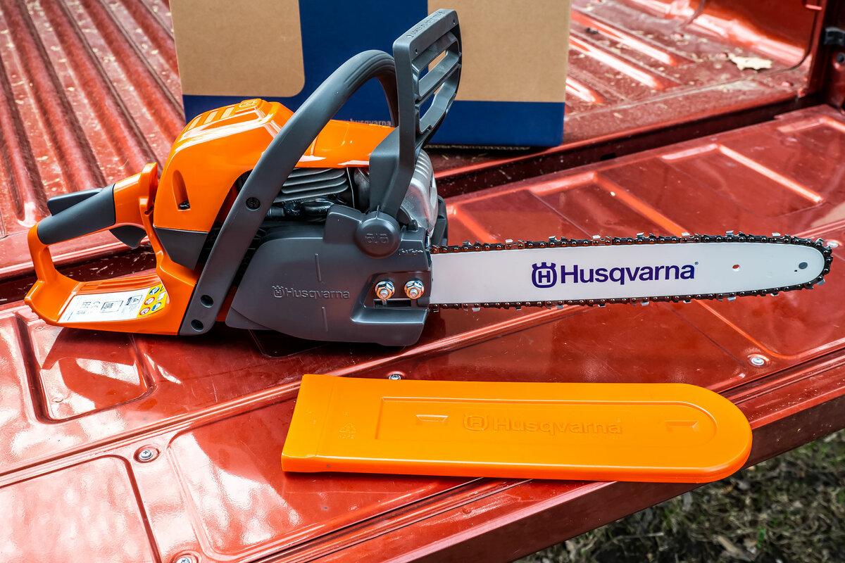 Бензопила husqvarna 450e — полупрофессиональный инструмент для пользователей с повышенными запросами
