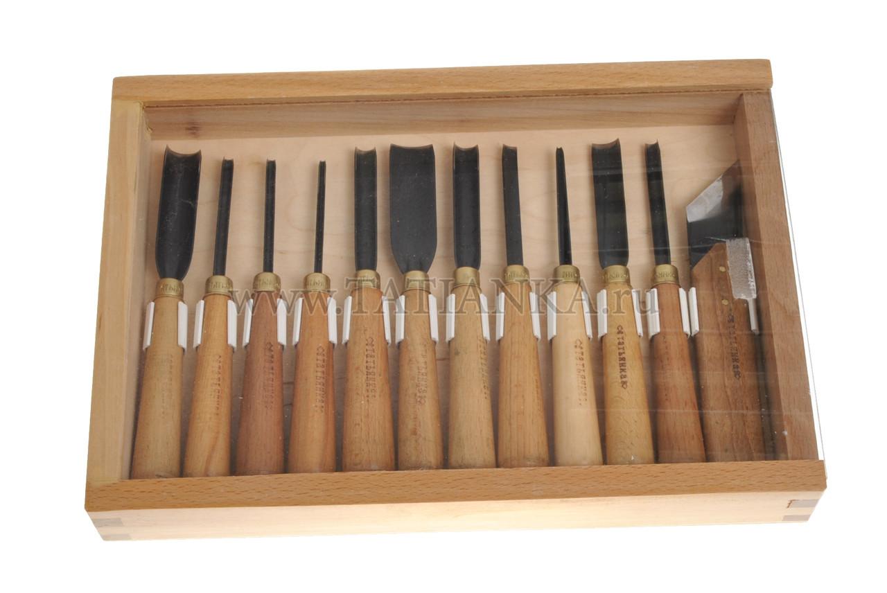 Основные инструменты для резьбы по дереву