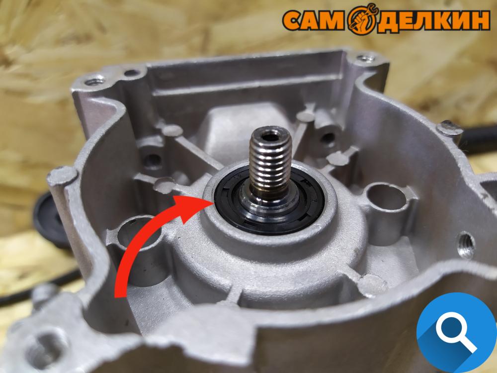 Как разобрать и собрать двигатель триммера