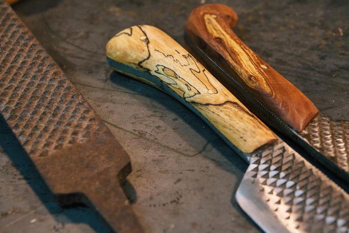 Нож из напильника