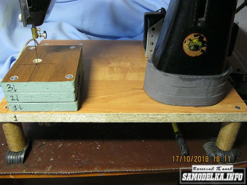 Лобзиковый станок из швейной машины. настольный лобзиковый станок своими руками электролобзик из швейной машинки своими руками