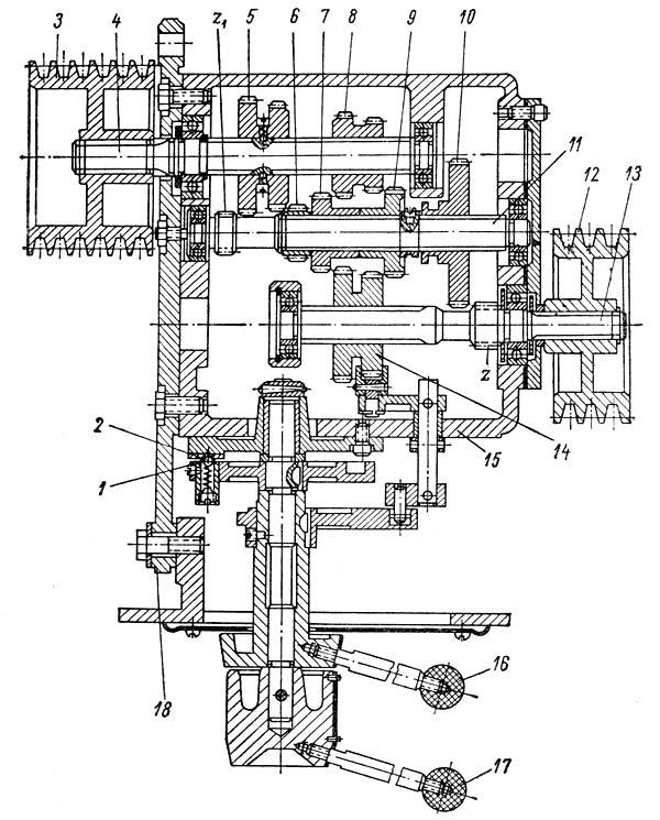 Технические характеристики токарного станка 1а616