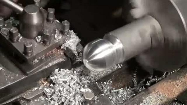 Простой способ точения шара на токарном станке по дереву или по металлу