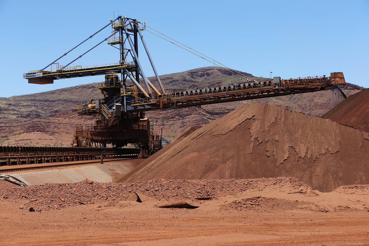 Железная руда — википедия