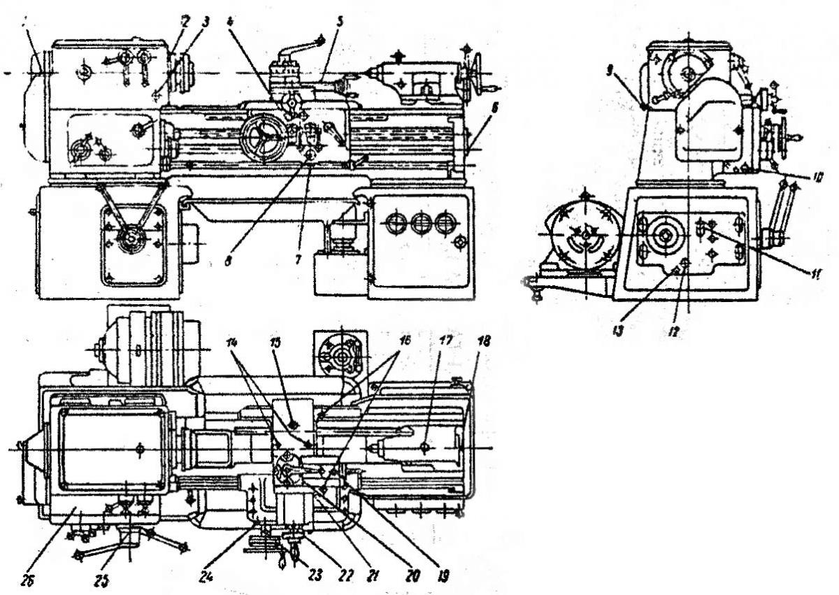 Токарный станок 16б16кп: технические характеристики, паспорт, схемы
