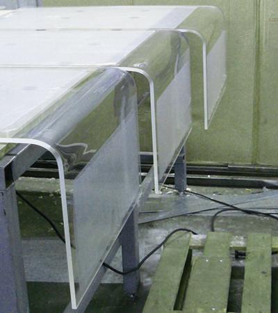 Гнутое оргстекло в домашних условиях: как согнуть термогибочным станком своим руками - фото, видео
