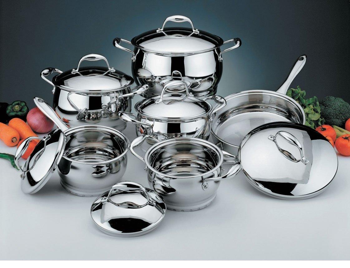 Виды сковород из нержавеющей стали и критерии выбора лучшей
