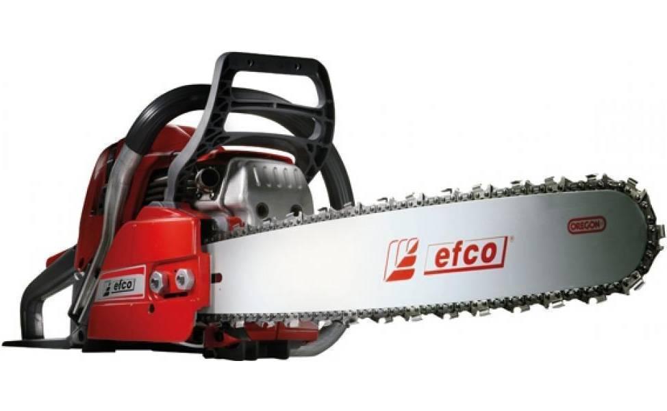 Бензопилы efco (эфко), модели — технические характеристики!