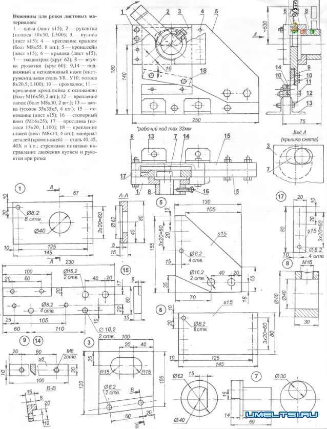 Гриндер своими руками: чертежи с размерами составляющих и алгоритм сборки