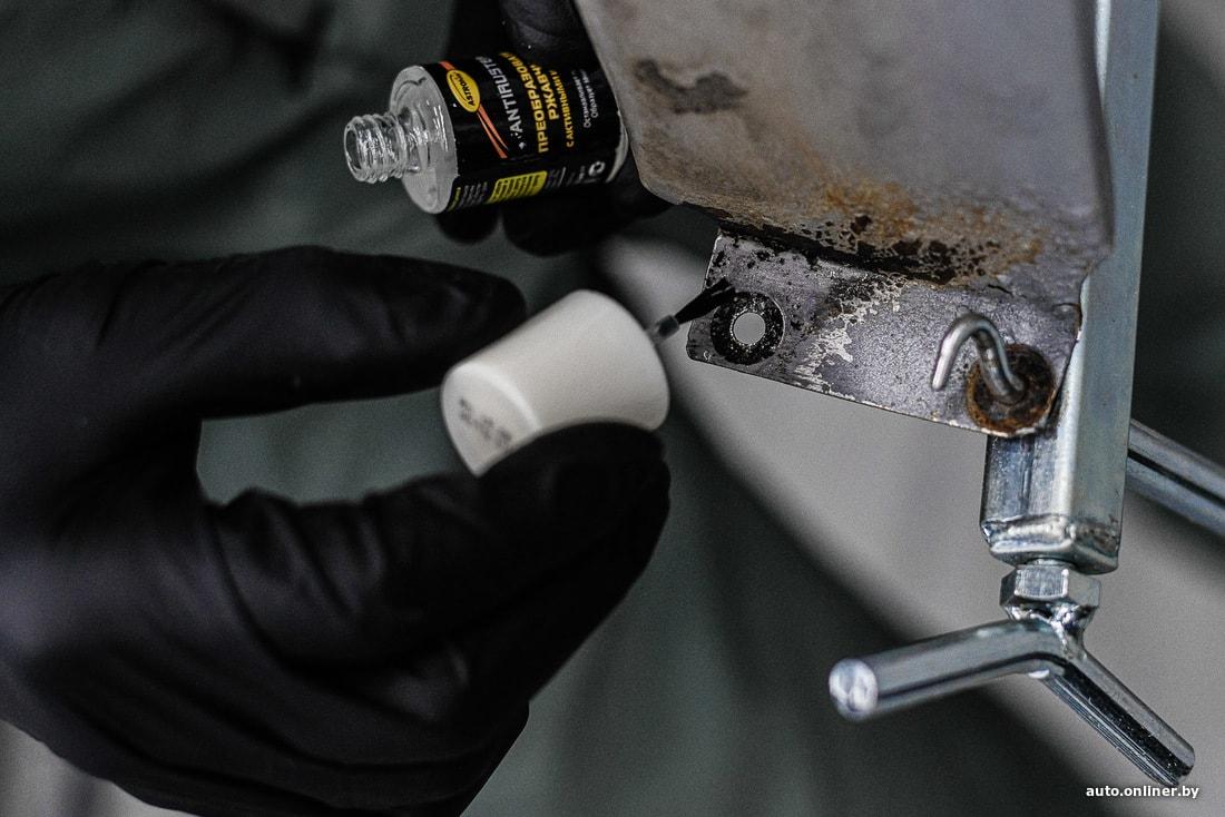 Очистка ржавчины: чем оттереть ржавчину с металла и что для этого нужно