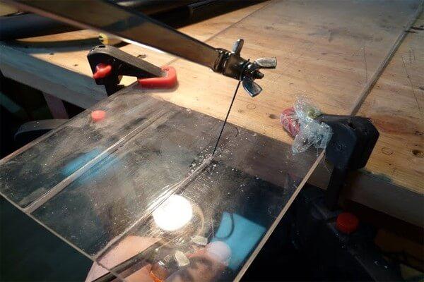 Как и чем резать оргстекло «  сделай сам