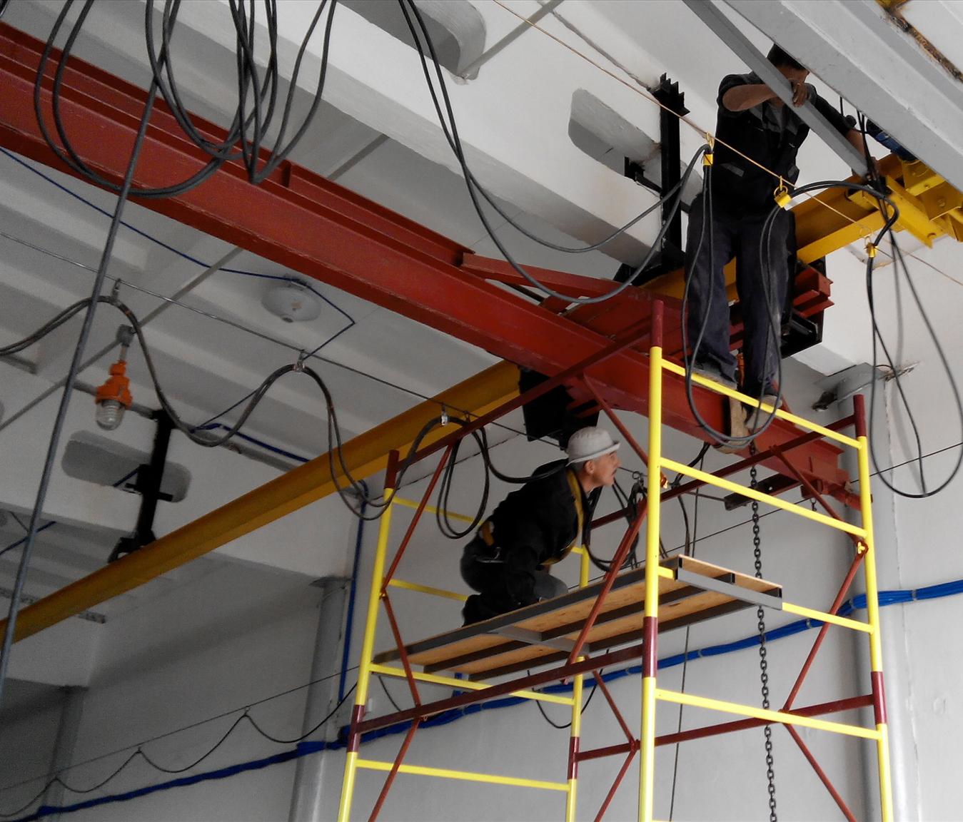 Основные этапы монтажа и демонтажа мостовых кран-балок