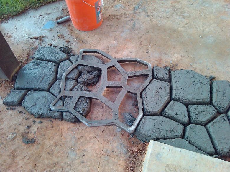 Применение литого бетона