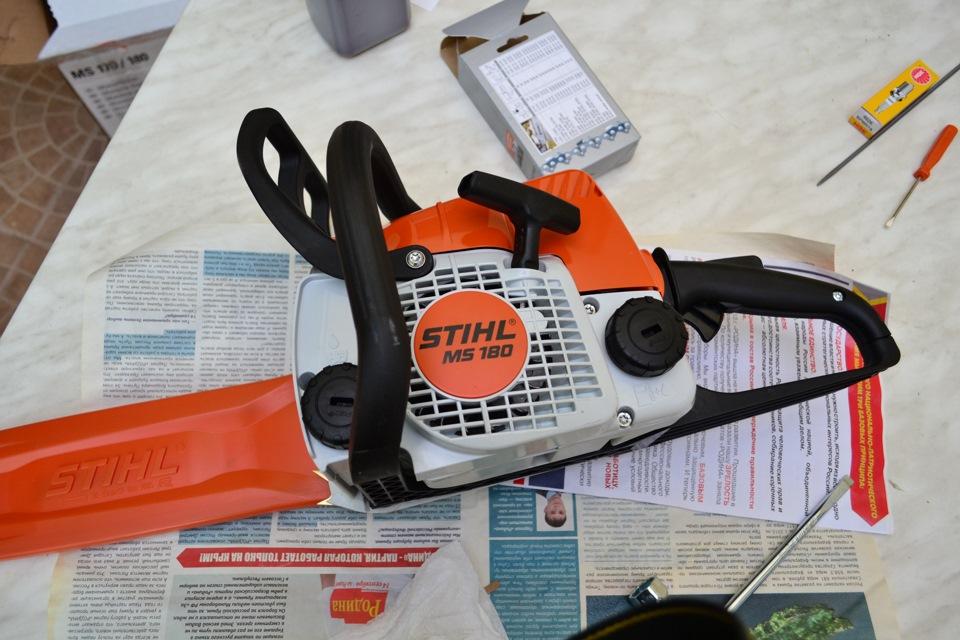 Как завести и работать бензопилой – мои инструменты