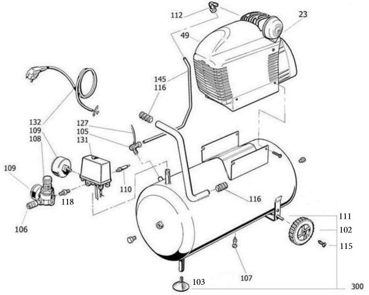 Устройство поршневого компрессора: описание принципа работы —   в москве