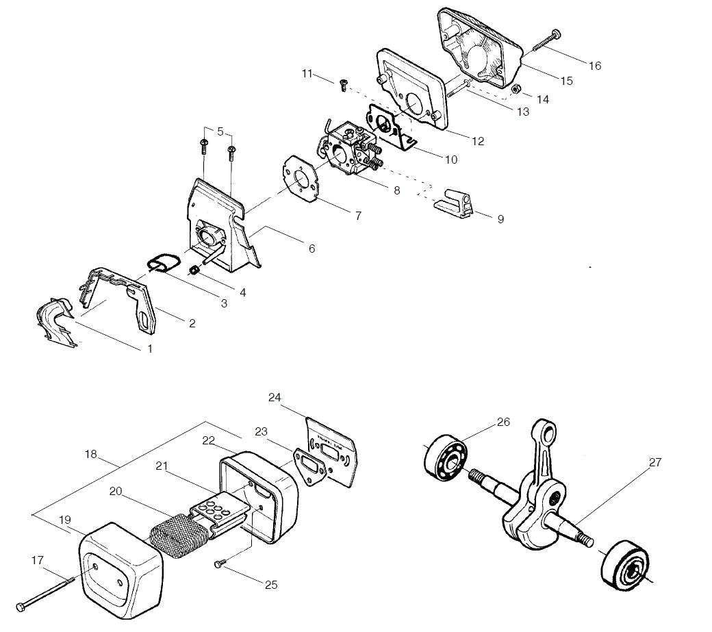 Как отрегулировать карбюратор на бензопиле хускварна 137