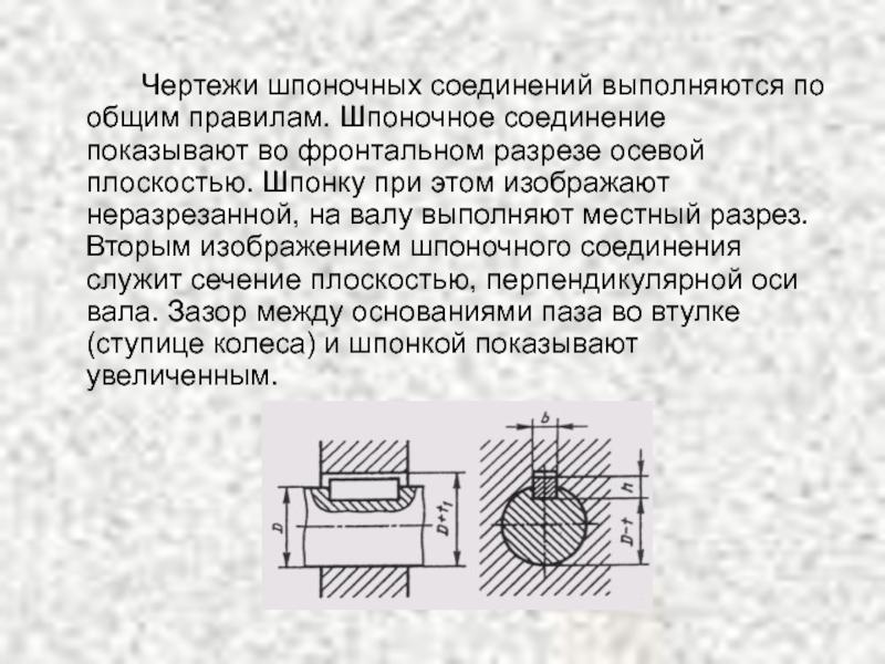 Подвижное шпоночное соединение  - большая энциклопедия нефти и газа, статья, страница 1