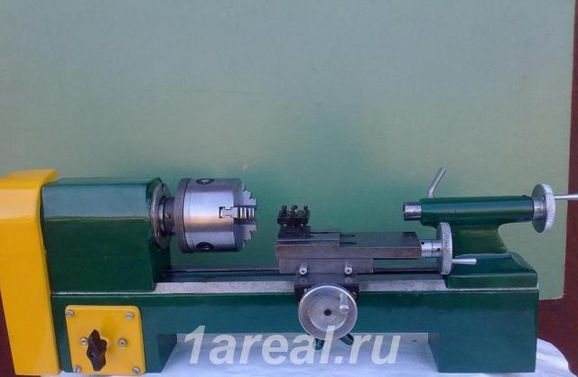 Новичок дорвался до 1д601 (настольный токарный станочек) - токарный станок 1д601