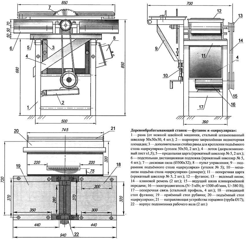 Токарный станок по дереву: устройство, принцип работы, виды