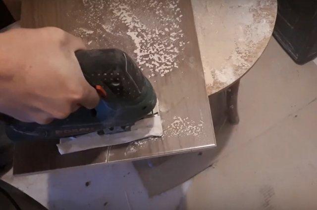 Чем резать плитку для пола