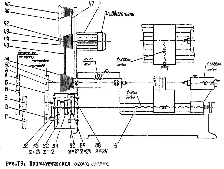 Универсал-3 (тш3) станок токарный настольный схемы, описание, характеристики