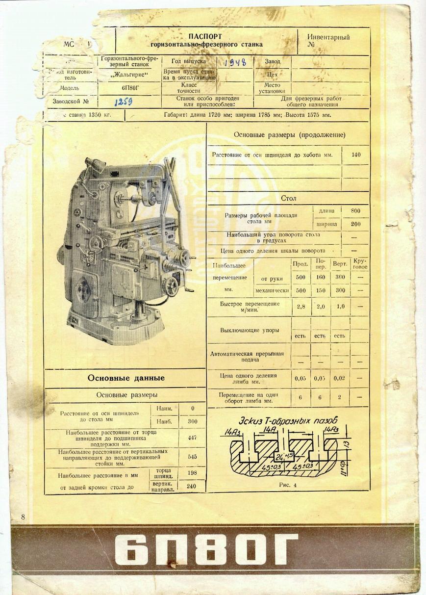 Фрезерный станок 6р13: технические характеристики, паспорт, схемы
