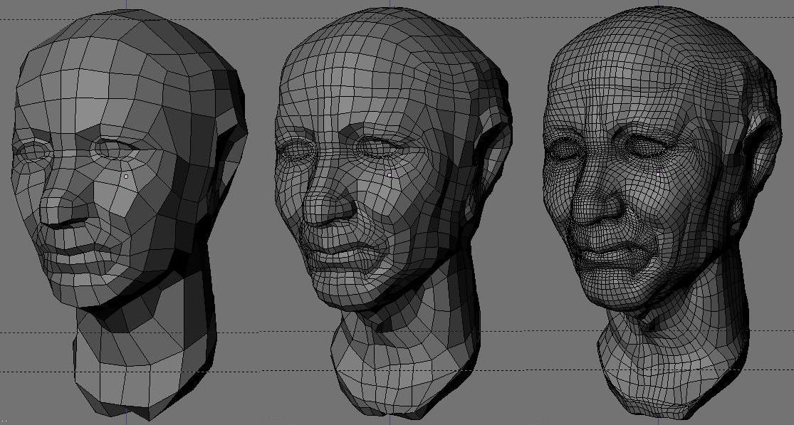 Введение в полигональное моделирование 3ds max