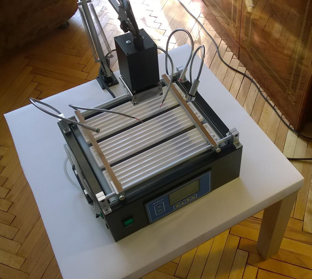 Паяльная станция своими руками: схема инфракрасной самодельной станции с феном