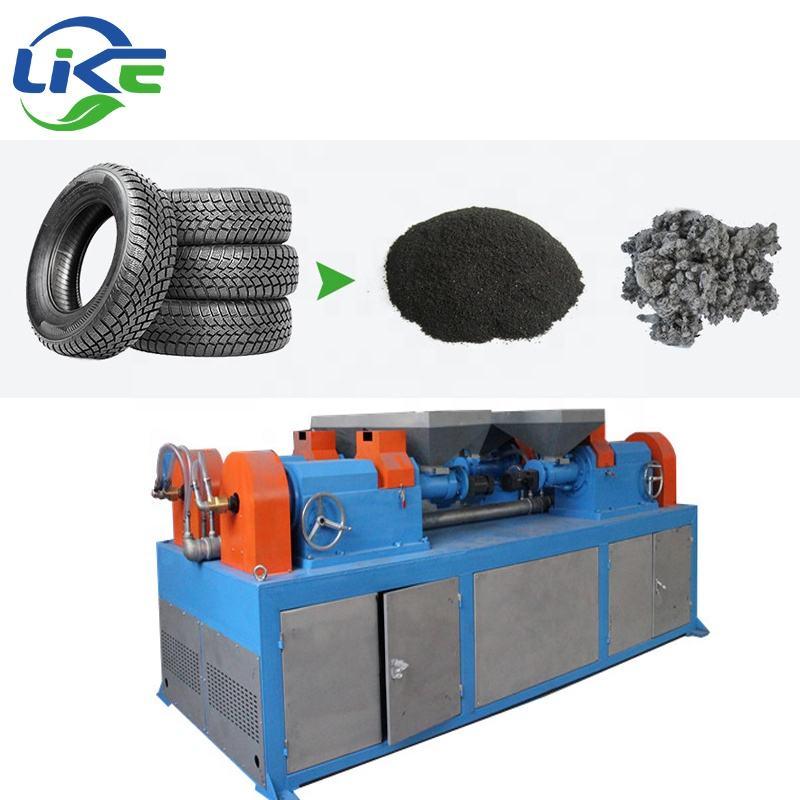 Оборудование для переработки шин: станки для утилизации резины