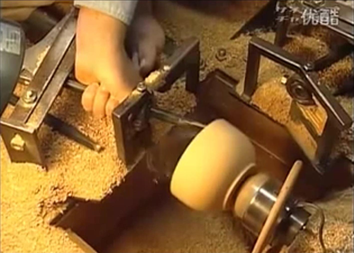 Токарный станок по дереву с копиром своими руками: видео