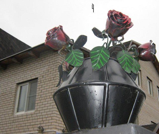 Кованая роза своими руками: чертежи, как сделать кованый лепесток