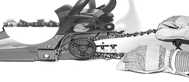 Как правильно одеть цепь на бензопилу: инструкция, рекомендации, основные способы