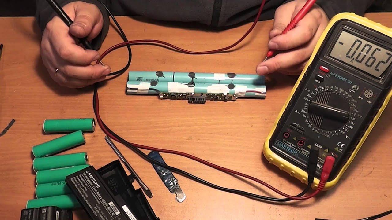 Как проверить емкость аккумулятора 18650 мультиметром
