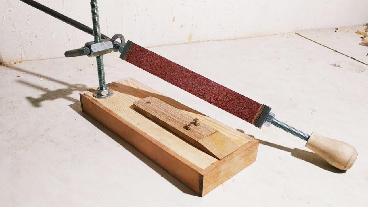 Станок для заточки ножей: как сделать хорошее приспособление своими руками