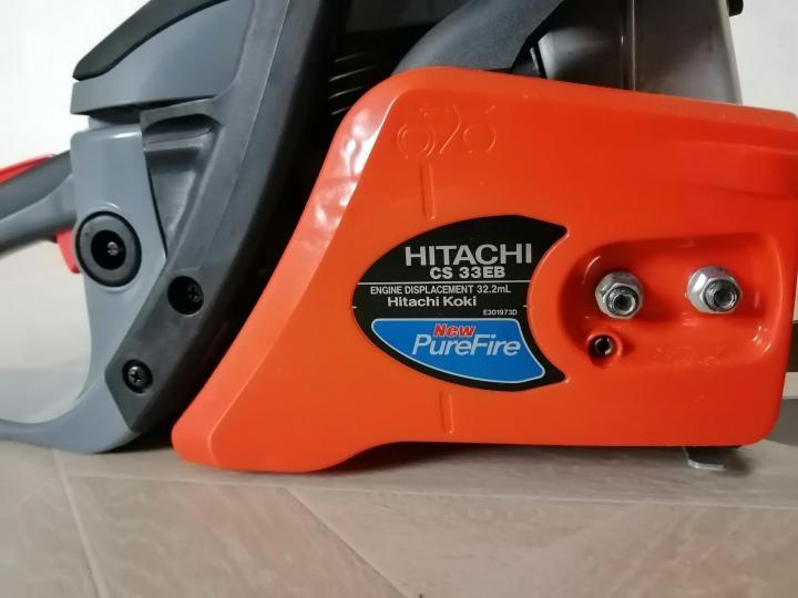 Бензопила hitachi cs33eb — фирменный инструмент в бюджетном ценовом диапазоне