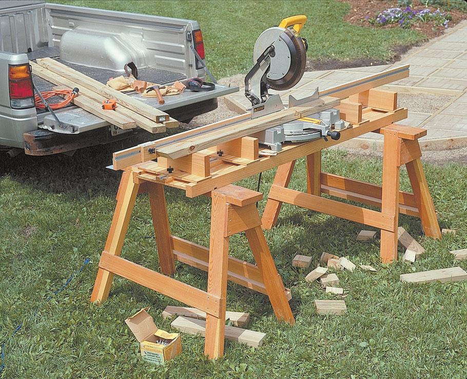 Торцовочный станок по дереву, его устройство, характеристики, схема изготовления своими руками